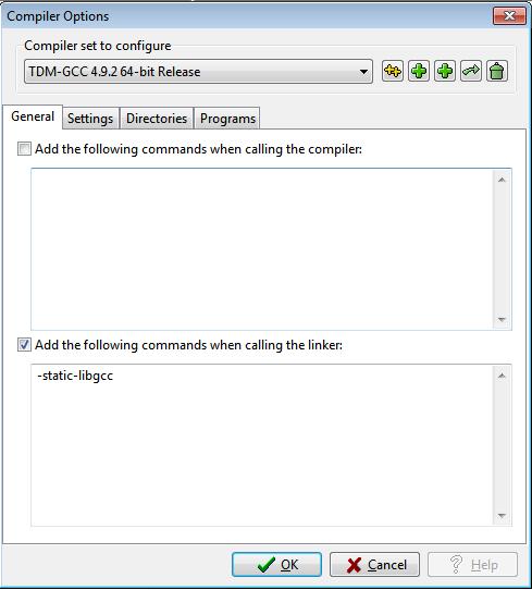 Dev c tdm-gcc 4.9.2 64-bit release date